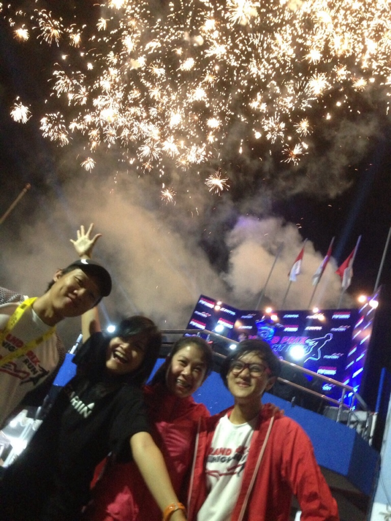 The best part adalah fireworksnya!! Yeaaayyy seru abesh!